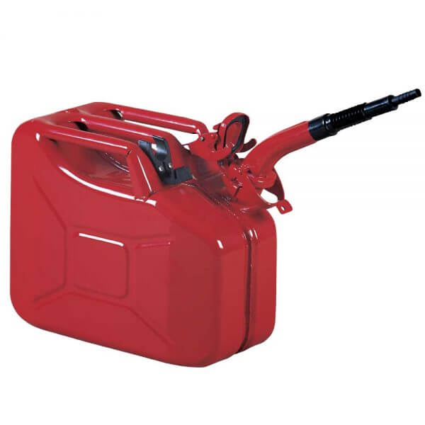 Metal Jerry Can Pourer with Clip