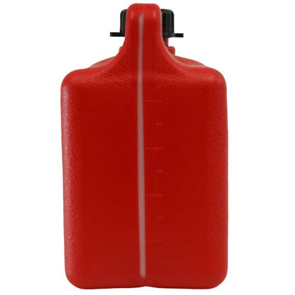 4L Emergency Plastic Can with Breather Pourer Back