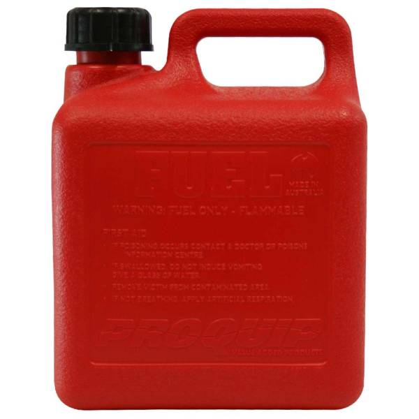 4L Emergency Plastic Can with Breather Pourer Side