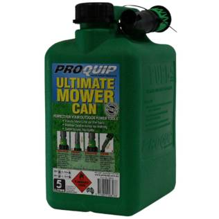 5L Ultimate Mower Can With Shut-Off Pourer Front