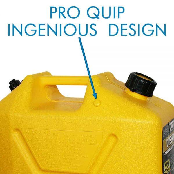 20L Yellow Plastic Diesel Fuel Can_Storage_Nub_1