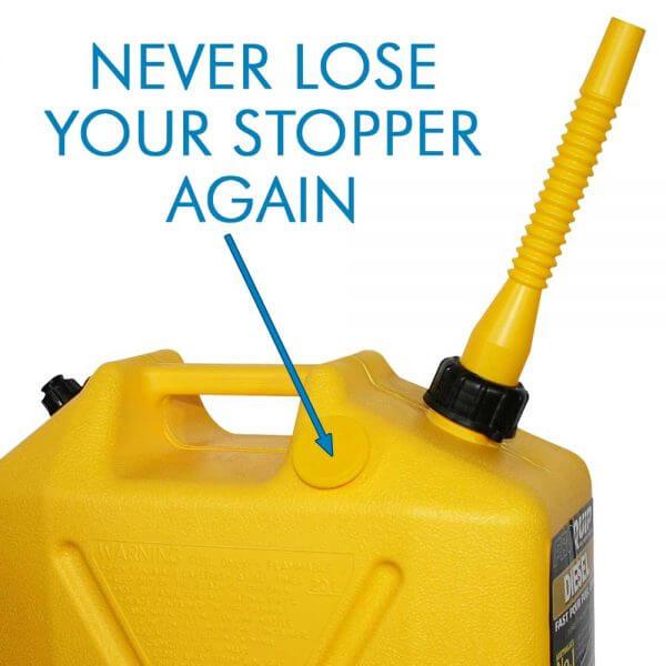 20L Yellow Plastic Diesel Fuel Can_Storage_Nub_2