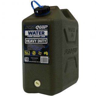 18L Wide Mouth Heavy Duty Water Jerry Can Front
