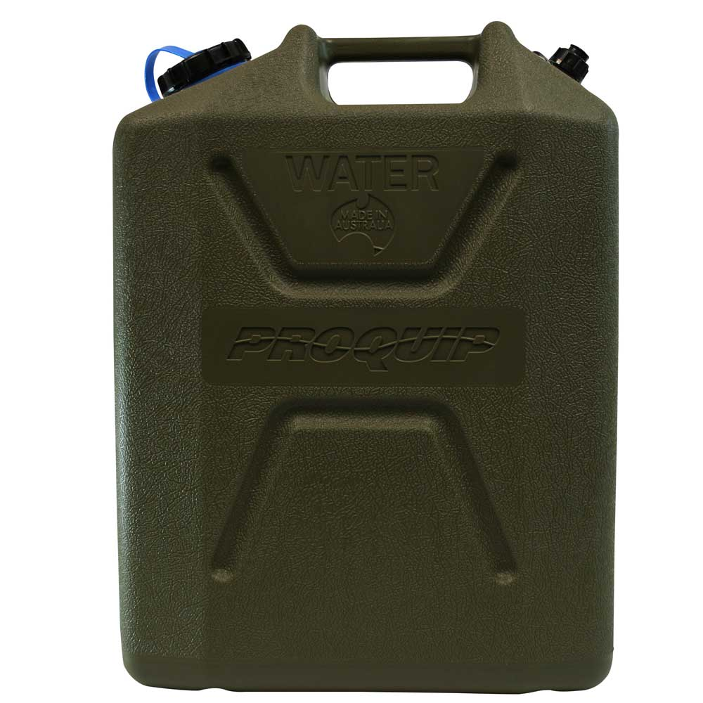 22L Wide Mouth Heavy Duty Water Jerry Can with Tap Side
