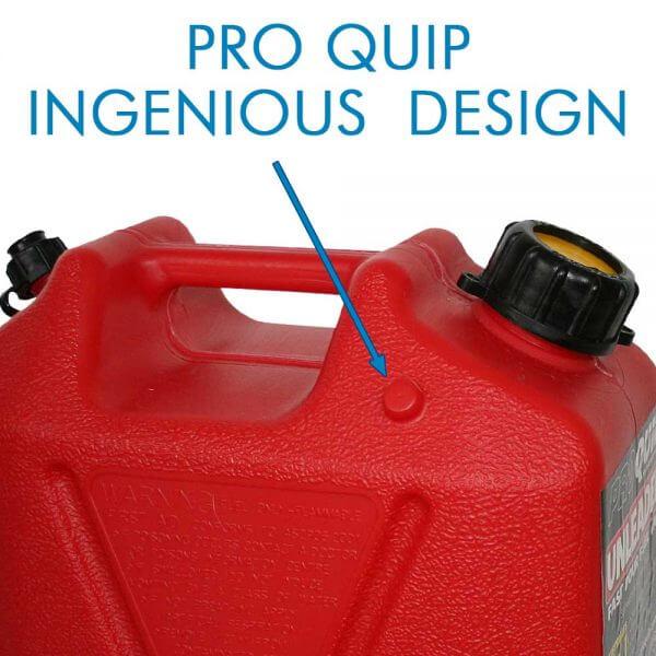 10L Red Plastic Unleaded Fuel Can_Storage_Nub_1