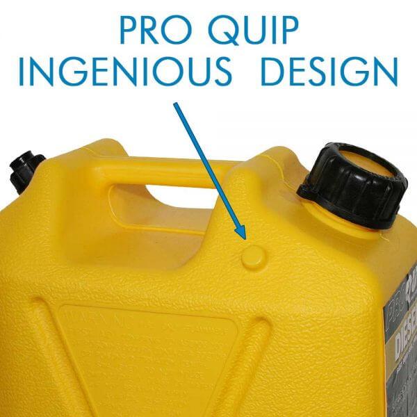 10L Yellow Plastic Diesel Fuel Can_Storage_Nub_1