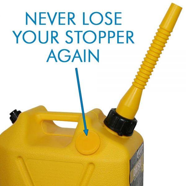 10L Yellow Plastic Diesel Fuel Can_Storage_Nub_2
