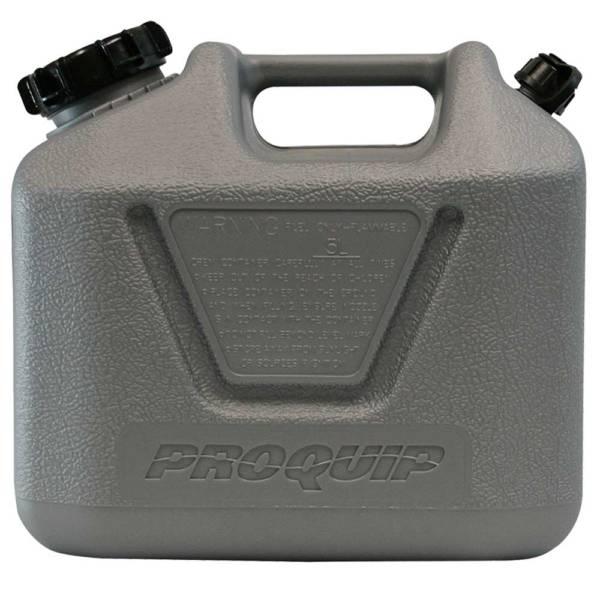 5L Platinum Plastic Fuel Can with Diesel Pourer Side