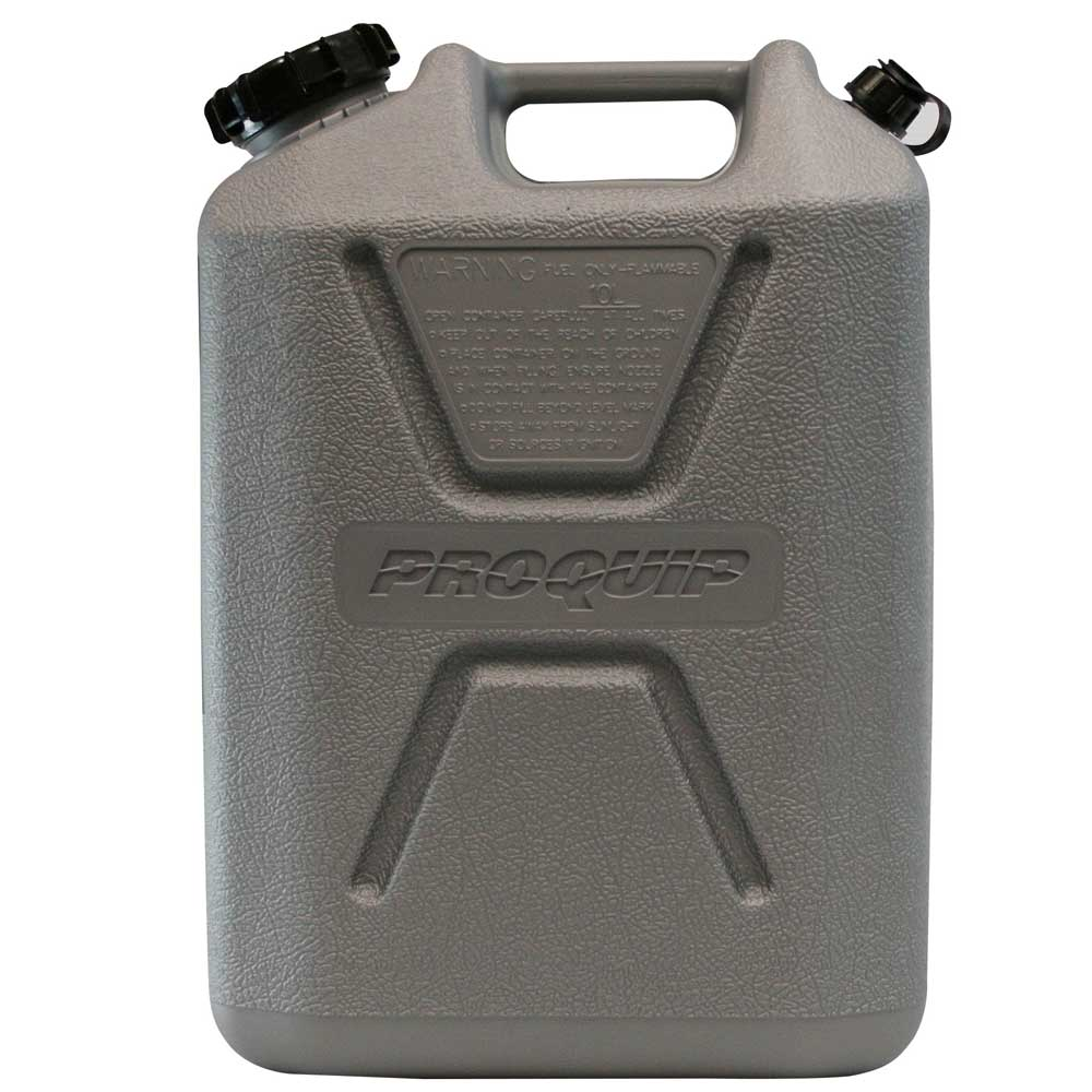 10L Platinum Series Plastic Unleaded Fuel Can Side