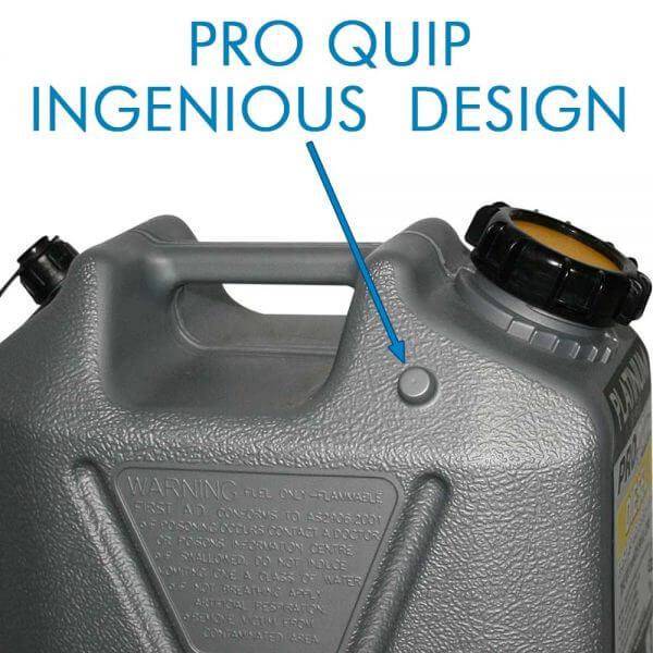 10L Platinum Series Plastic Diesel Fuel Can_Storage_Nub_1