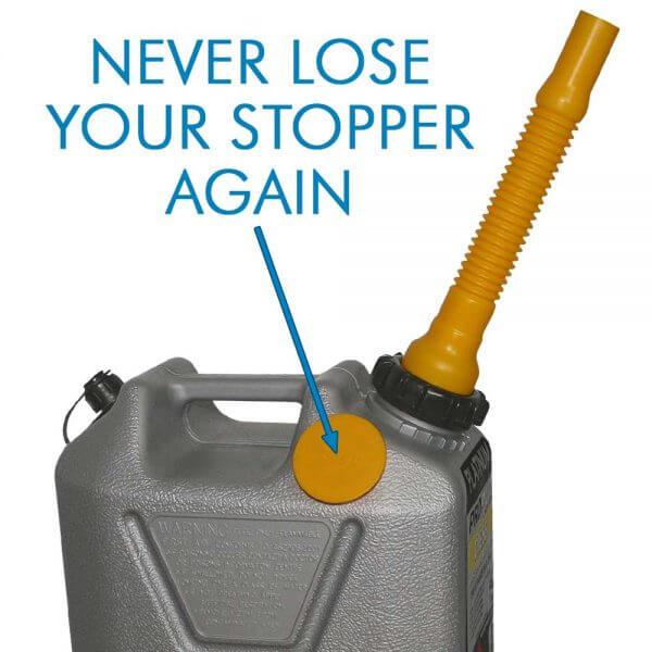 10L Platinum Series Plastic Diesel Fuel Can_Storage_Nub_2