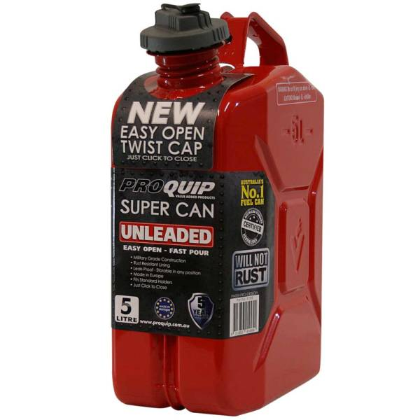 5L Unleaded Super Can with Twist Cap Front