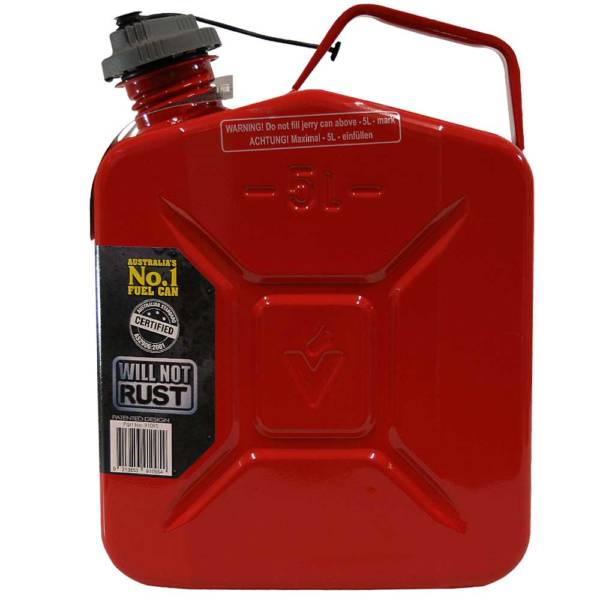 5L Unleaded Super Can with Twist Cap Side