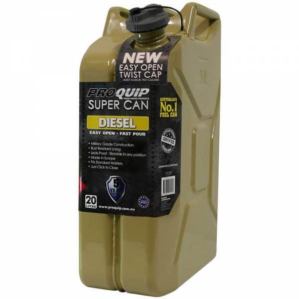 20L Diesel Super Can with Twist Cap Front