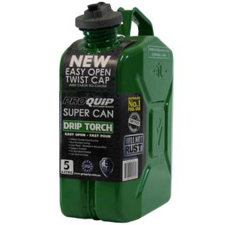 5L Drip Torch Super Can with Twist Cap