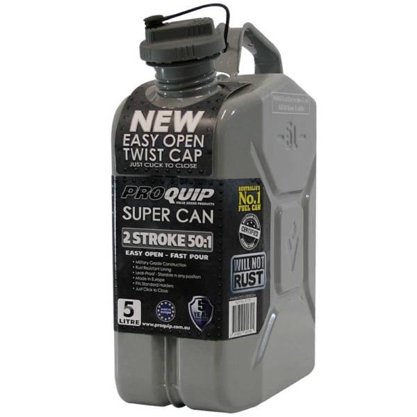 5L 2 Stroke 50:1 Super Can with Twist Cap