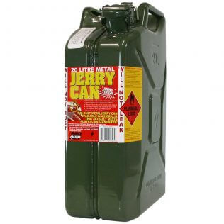 20L Army Green AFAC Metal Jerry Can Front