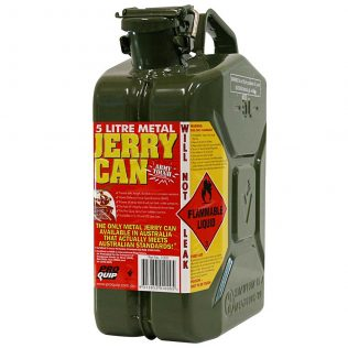5L Army Green AFAC Metal Jerry Can Front