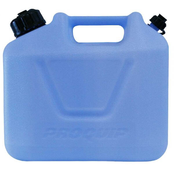 5L Light Blue Plastic Water Jerry Can Side