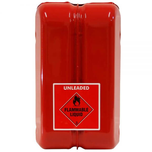 10L Unleaded AFAC Metal Jerry Can Back
