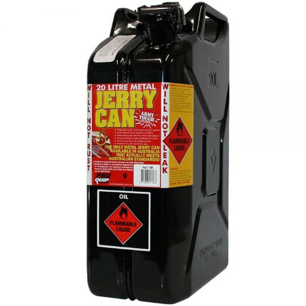 20L Oil AFAC Metal Jerry Can Front