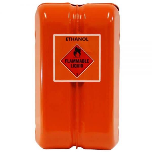 10L Ethanol AFAC Metal Jerry Can Back