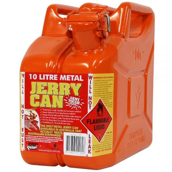 10L Ethanol AFAC Metal Jerry Can