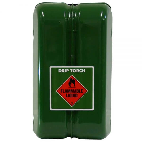 10L Drip Torch AFAC Metal Jerry Can Back