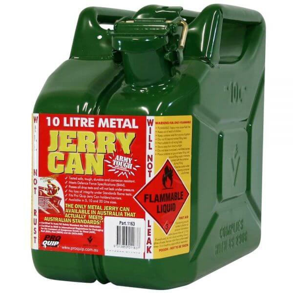 10L Drip Torch AFAC Metal Jerry Can