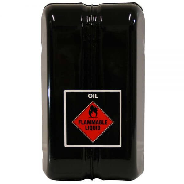 10L Oil AFAC Metal Jerry Can Back