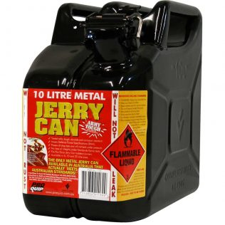 10L Oil AFAC Metal Jerry Can Front