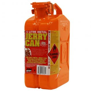 5L Ethanol AFAC Metal Jerry Can Front