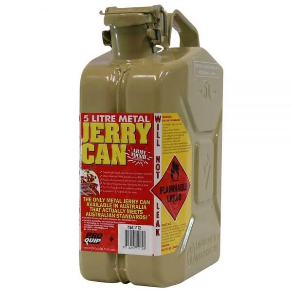 5L Diesel AFAC Metal Jerry Can Front