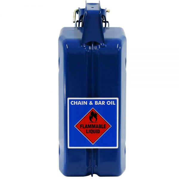 5L Chain & Bar Oil AFAC Metal Jerry Can Back