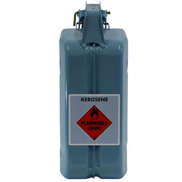 5L Kerosene AFAC Metal Jerry Back