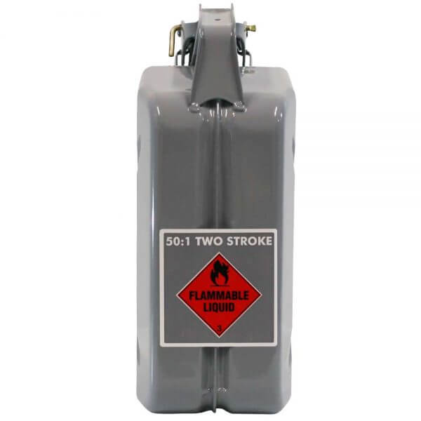 5L 2 Stroke 50:1 AFAC Metal Jerry Can Back
