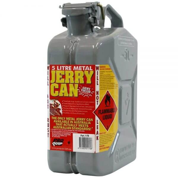 5L 2 Stroke 50:1 AFAC Metal Jerry Can Front