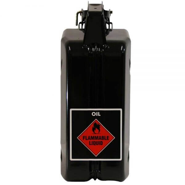 5L Oil AFAC Metal Jerry Can Back