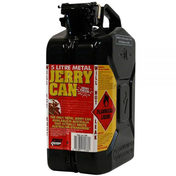 5L Oil AFAC Metal Jerry Can Front