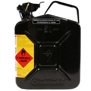 5L Oil AFAC Metal Jerry Can Side