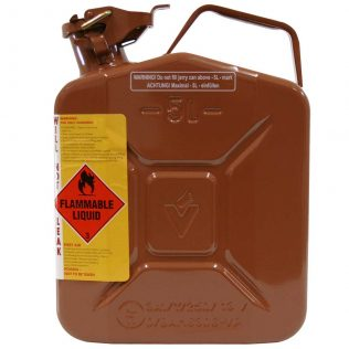 5L Bio Diesel AFAC Metal Jerry Can Side