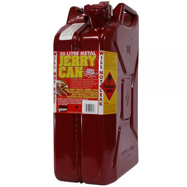 20L Red Explosafe Front