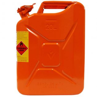 20L Ethanol AFAC Metal Jerry Can