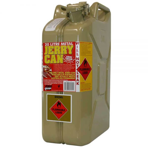 20L Diesel AFAC Metal Jerry Can Front