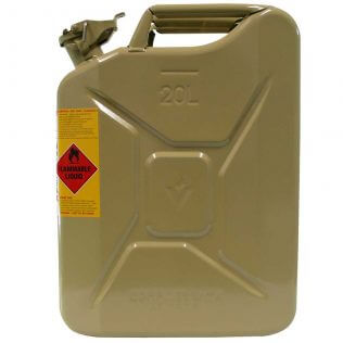 20L Diesel AFAC Metal Jerry Can Side