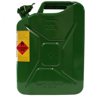 20L Drip Torch AFAC Metal Jerry Can Side