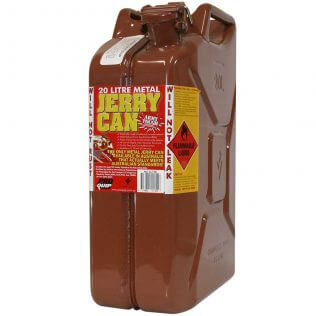 20L Bio Diesel AFAC Metal Jerry Can Front
