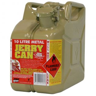 10L Diesel AFAC Metal Jerry Can