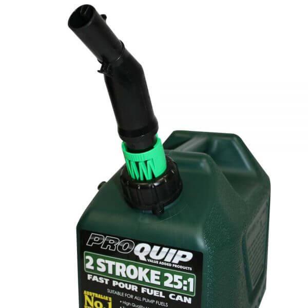 Shut-Off Pourer For Pro Quip Plastic Fuel Cans