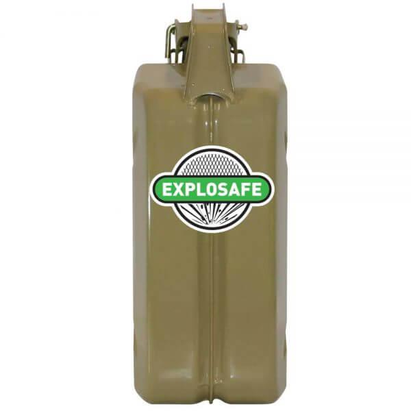 5L AFAC Olive Explosafe Back
